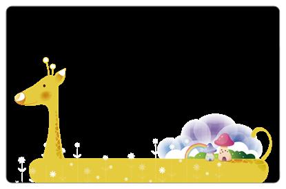 圖片 可愛長頸鹿