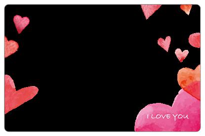圖片 情人節限定卡框-橫式