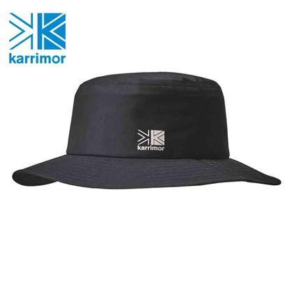 圖片 日系[ Karrimor ] rain 3L Hat 2 三層防水圓盤帽-黑
