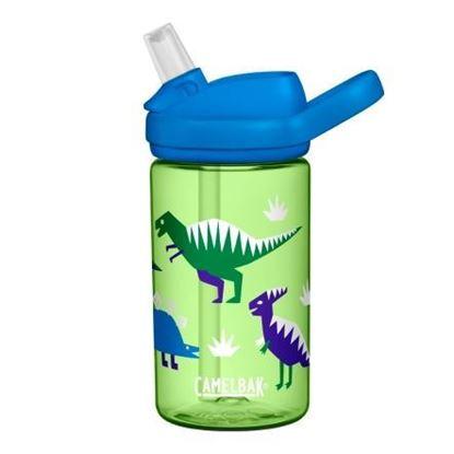 圖片 【CamelBak】400ml eddy+兒童吸管運動水瓶 嘻哈恐龍