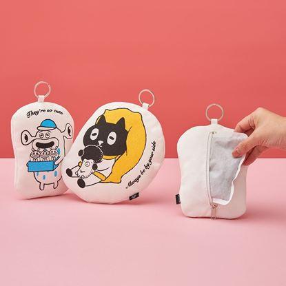 圖片 Kuroro暖手小物包