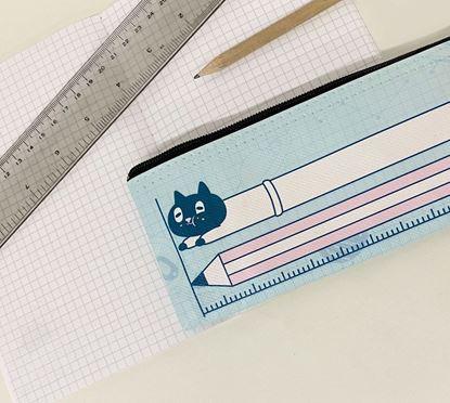 圖片 Kuroro 不可思議的貓科學款—筆袋