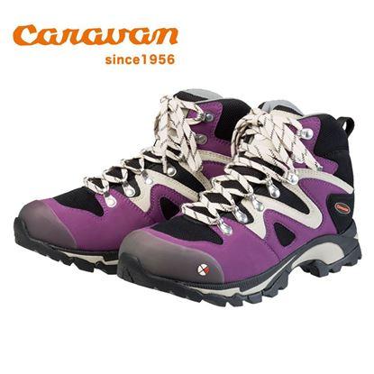圖片 【日本Caravan】 C4-03 女性專用戶外登山健行鞋 葡萄紫