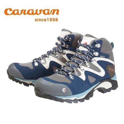 圖片 【日本Caravan】 C4-03 女性專用戶外登山健行鞋 海軍藍
