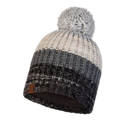 圖片 【BUFF】ALINA-針織保暖毛球帽 優雅灰