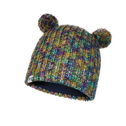 圖片 【BUFF】LERA-兒童針織保暖造型帽 松石綠