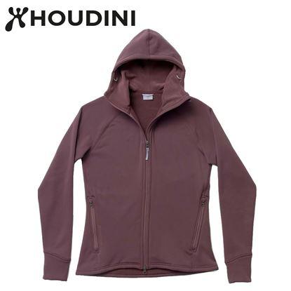 圖片 瑞典【Houdini】W`s Power Houdini 女款Power Stretch® Pro™保暖外套 紅色幻想