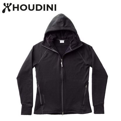 圖片 瑞典【Houdini】W`s Power Houdini 女款Power Stretch® Pro™保暖外套 純黑