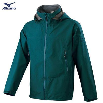 圖片 【 美津濃MIZUNO】男款單層GORE-TEX防水透氣外套 (藍綠)