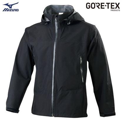 圖片 【 美津濃MIZUNO】男款單層GORE-TEX防水透氣外套 (黑)