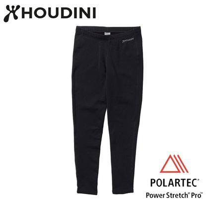 圖片 瑞典【Houdini】M's Long Power Tights 男款Power Stretch® Pro™保暖褲 純黑