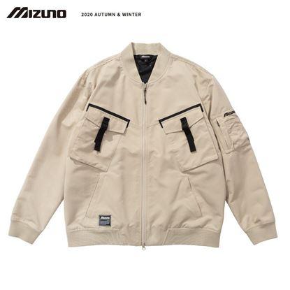 圖片 【 美津濃MIZUNO】男款平織外套 卡其