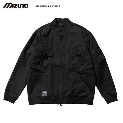 圖片 【 美津濃MIZUNO】男款平織外套 黑