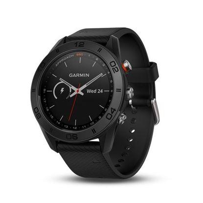 圖片 【GARMIN】Approach S60 高爾夫 GPS 腕錶 紳士黑