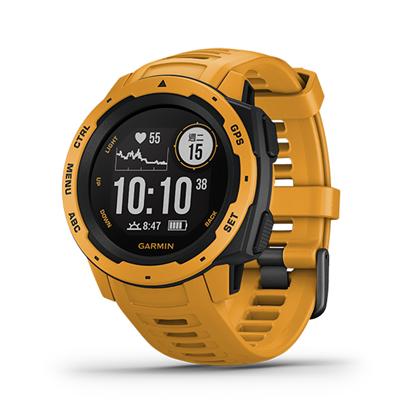 圖片 【GARMIN】Instinct 軍規GPS運動腕表 日耀黃