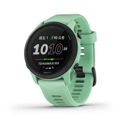 圖片 【GARMIN】Forerunner 745 GPS智慧心率跑錶  薄荷綠