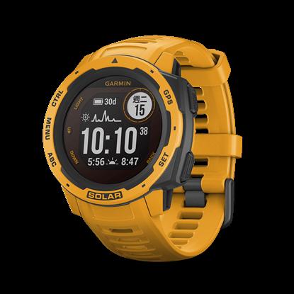 圖片 【GARMIN】 Instinct  Solar 本我系列太陽能GPS腕錶 日耀黃