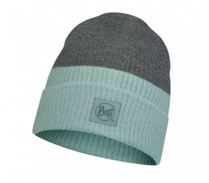圖片 YULIA-針織保暖帽 湖水綠