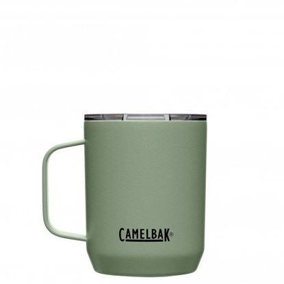 圖片 【CamelBak】350ml Camp Mug 不鏽鋼露營保溫馬克杯(保冰) 灰綠