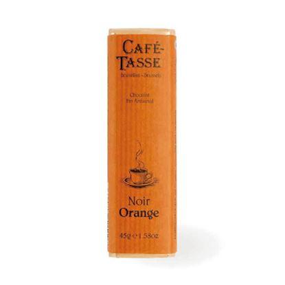 圖片 【CAFE TASSE】比利時黑巧克力-柑橘口味 45g-6入組