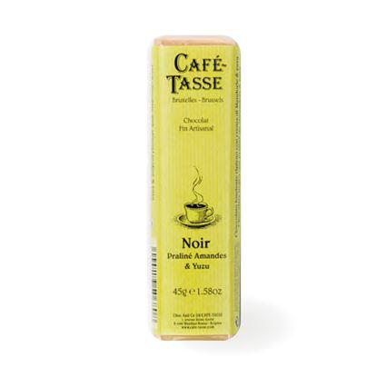 圖片 【CAFE TASSE】比利時黑巧克力-柚子堅果口味 45g-6入組