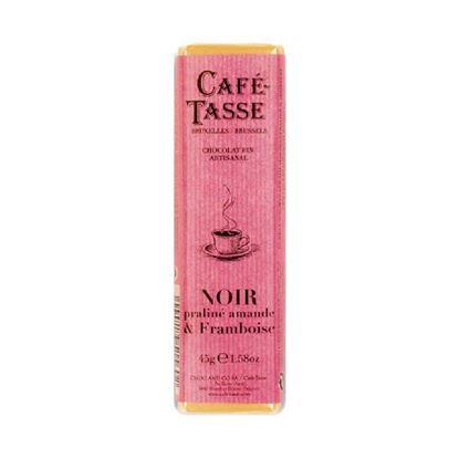 圖片 【CAFE TASSE】比利時黑巧克力-覆盆子堅果口味 45g-6入組