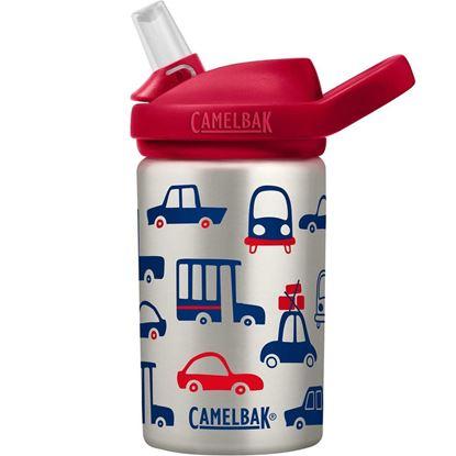 圖片 【CamelBak】400ml eddy+ 兒童吸管保冰/溫水瓶 車車集合