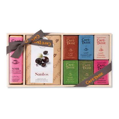 圖片 【CAFE TASSE】比利時精選巧克力禮盒 233g