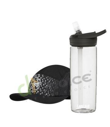 圖片 跑帽-結構銀黑+750 eddy+多水管水瓶 晶透白