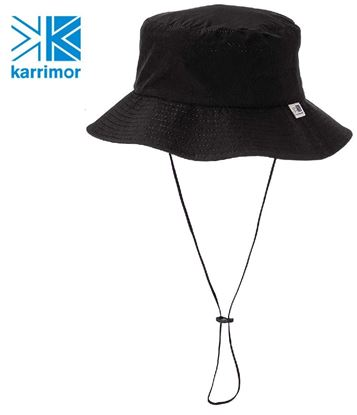 圖片 日系[ Karrimor ] Trek Hat 透氣彈性圓盤帽  黑