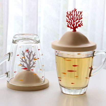圖片 珊瑚玻璃杯