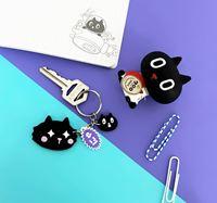 圖片 Kuroro QQ 珍珠壓克力鑰匙圈