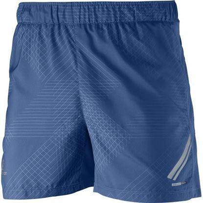 圖片 【Salomon】SA15 Agile男短褲-藍
