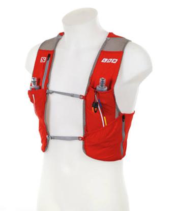 圖片 【Salomon】SA15 S-LAB Sense Set賽車紅/鋁-水袋背心