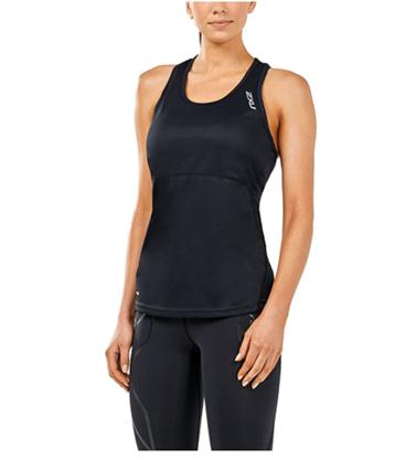圖片 【2XU】X-VENT女用跑步無袖上衣-黑