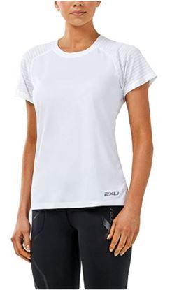 圖片 【2XU】2018 X-VENT女用跑步短袖上衣-白