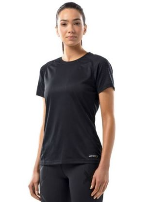 圖片 【2XU】2018 X-VENT女用跑步短袖上衣-黑