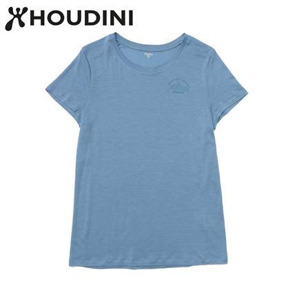 圖片 瑞典【Houdini】W`s Tree Message Tee 純藍