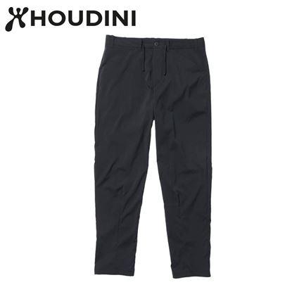 圖片 瑞典【Houdini】M's Wadi Pants 男 夏季快乾褲 純黑
