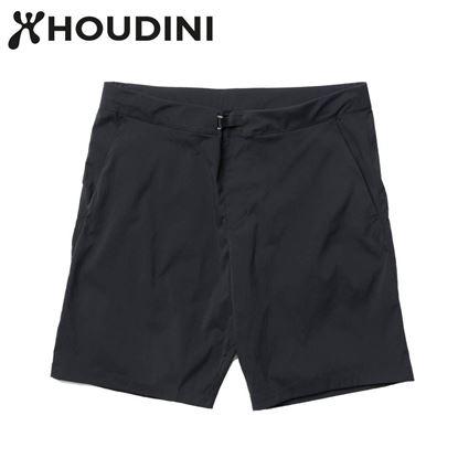 圖片 瑞典【Houdini】M's Wadi shorts 男 夏季快乾短褲 純黑