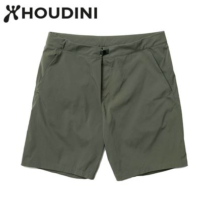 圖片 瑞典【Houdini】M's Wadi shorts 男 夏季快乾短褲 裸印綠