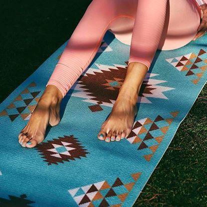 圖片 納瓦荷-圖騰瑜珈墊