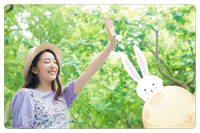 圖片 中秋節卡框-月兔迷藏