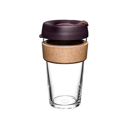 圖片 澳洲 KeepCup 軟木 隨身杯/咖啡杯/環保杯/外帶杯 L - 甜酒紅