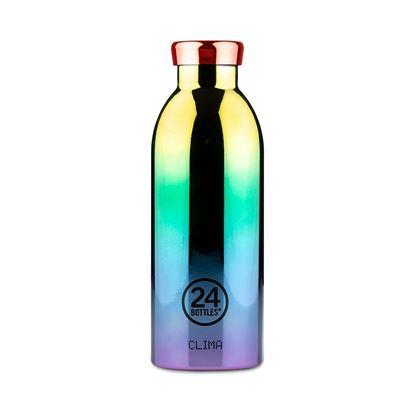 圖片 義大利 24Bottles 不鏽鋼雙層保溫瓶 500ml - 極光