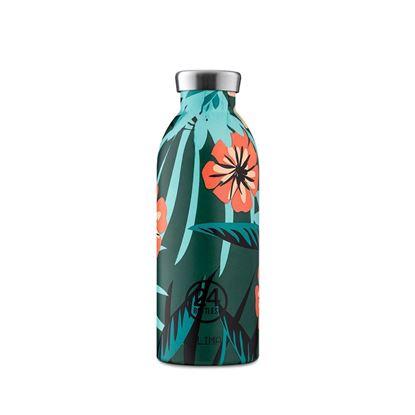 圖片 義大利 24Bottles 不鏽鋼雙層保溫瓶 500ml - 熱帶風情