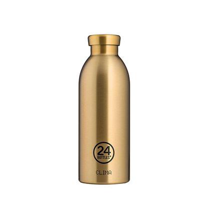 圖片 義大利 24Bottles 不鏽鋼雙層保溫瓶 500ml - 香檳金