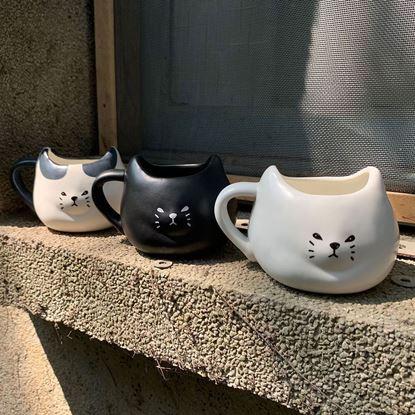 圖片 日本 sunart 馬克杯 - 厭世貓