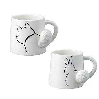 圖片 日本 sunart 馬克杯 - 搖尾動物杯系列