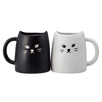 圖片 日本 sunart 對杯-黑白配馬克杯